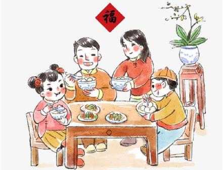 春节的菜谱