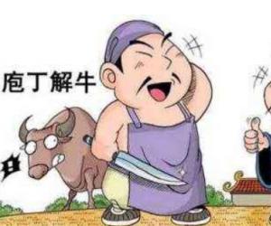 庖丁解牛原文及翻译