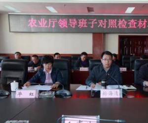 省委巡视整改民主生活会对照检查材料
