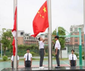 初中国旗下讲话稿