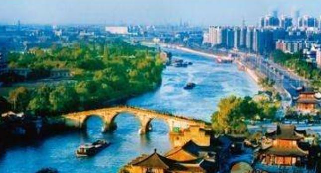 我爱家乡的京杭大运河