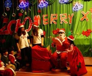 圣诞节主持人台词