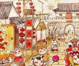 欢度春节作文